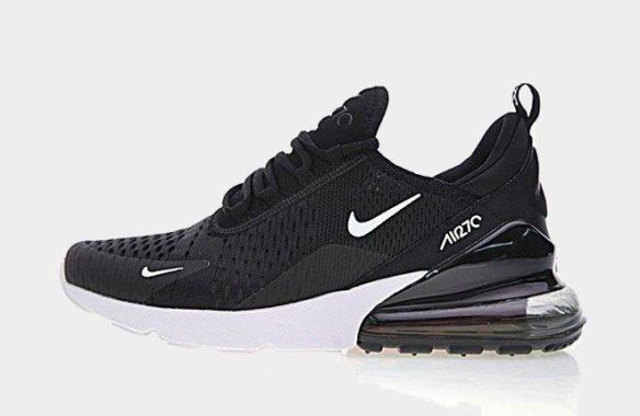 accdccad Кроссовки Nike Air Max 270 Black-White в Одинцово - купить по низкой ...
